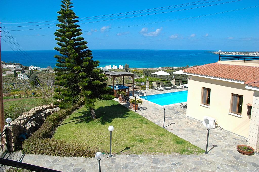 Zypern ferienhaus coral panorama mit aussicht ber coral for Ferienhaus zypern